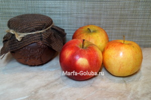 Яблоки с медом 1