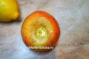 Яблоки с медом 2