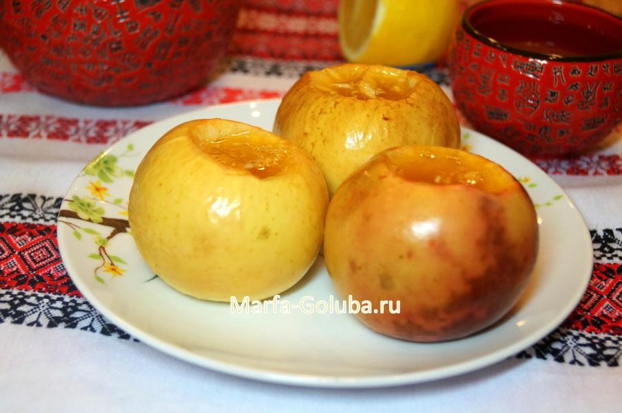 Яблоки с медом 5