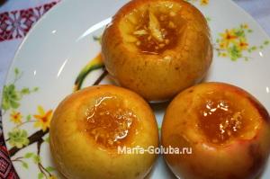Яблоки с медом 6