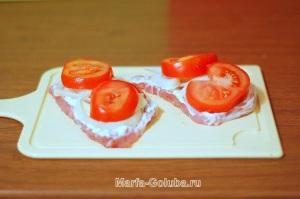 9мясо с помидорами