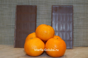 Мандарины в шоколаде 1