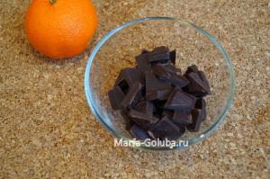 Мандарины в шоколаде 3