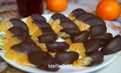 Мандарины в шоколаде 6