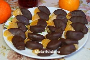 Мандарины в шоколаде 7