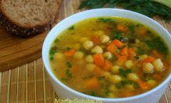 Суп с нутом 8
