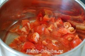 Бами с перцем_4потушить помидоры