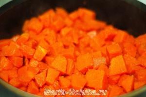 тыквенный сырный суп_5 пожарить тыкву