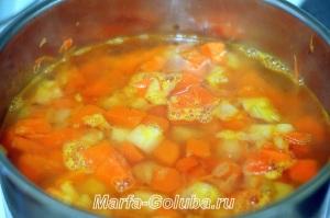 тыквенный сырный суп_7 всё сварить