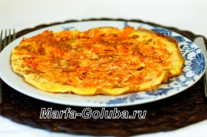 Яичница с морковкой_7готово