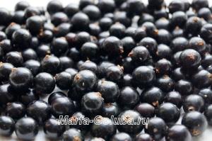 Черная смородина с сахаром 2