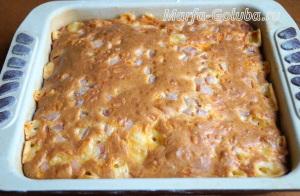 Пирог с ветчиной и сыром 14