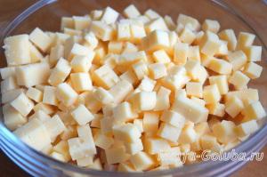 Пирог с ветчиной и сыром 3